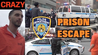 ESCAPED PRISONERS IN NYC (COPS CALLED!!)