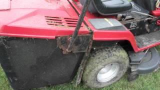 MTD lawnflite ride on mower