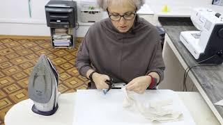 Бесплатный подготовительный курс по шитью Фартук BBQ Урок 8