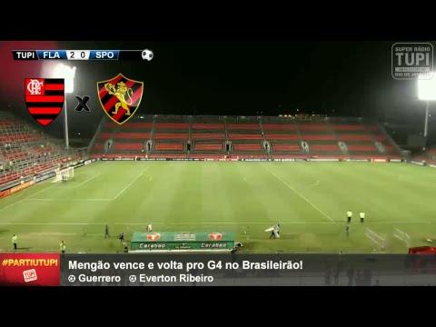 Flamengo 2 x 0 Sport - 24ª Rodada - Brasileirão - 17/09/2017