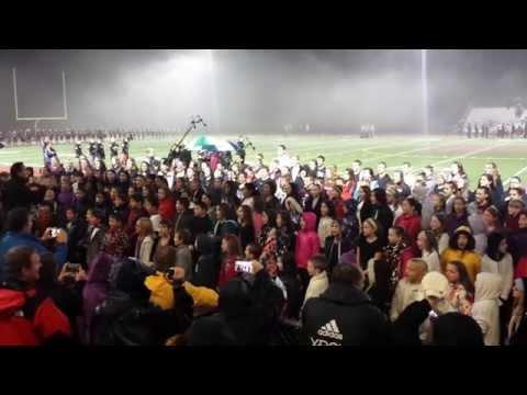 Cedarcrest High School & all ages choir, 2014