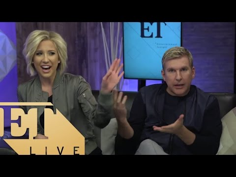 Todd Chrisley And Savannah Chrisley Of 'Chrisley Knows Best' On USA | ET LIVE