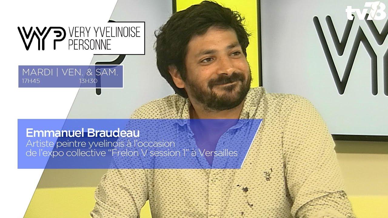 """VYP. Emmanuel Braudeau, peintre yvelinois à l'expo """"Frelon V session 1"""" à Versailles"""