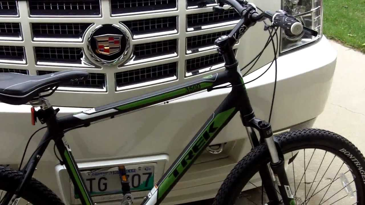 2012 Trek 3500 Mountain Bike And A Vintage Ccm Citation Bike Youtube