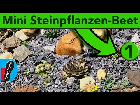 Miniatur Steingarten Anlegen   Do It Yourself   YouTube