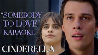 🎶 Somebody to Love 🎶 with Nicolas Galitzine   Cinderella 🎤 Karaoke   Prime Video