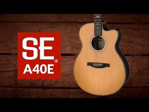The SE A40E | PRS Guitars