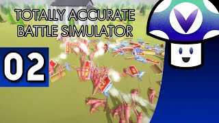 [Vinesauce] Vinny - Totally Accurate Battle Simulator (part 2)