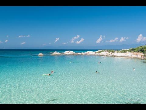 Wonderful Orange beach on Sithonia!