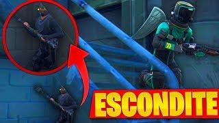 JUGANDO AL *ESCONDITE* EN LA MANSIÓN DE BATMAN!!  EL ESCONDITE EN FORTNITE: Battle Royale!