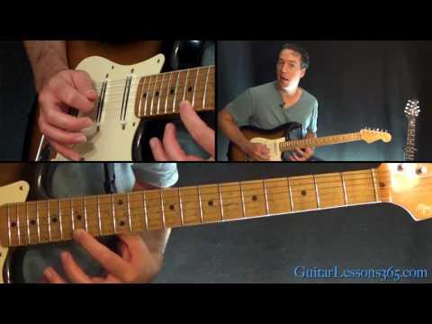 Santana - Europa Guitar Lesson (Part 2)