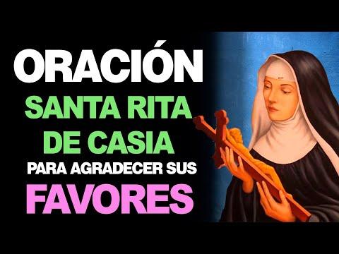 🙏 Oración a Santa Rita De Casia para AGRADECER LOS FAVORES Concedidos 🙇♀️