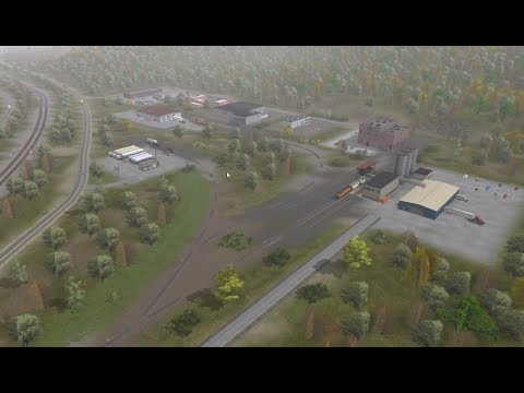 Trainz a New Era: Building an industrial park