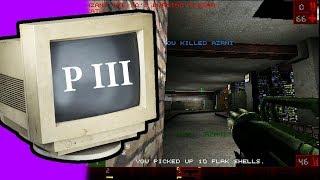 Играть с 0.01 FPS? Серьёзно?! Pentium 3 + Windows 98 (17 Бит тому назад)