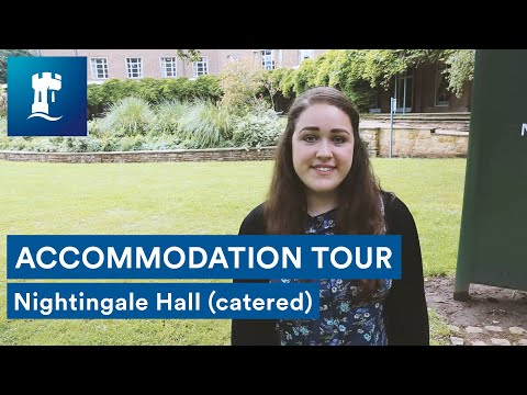 Uni Park Campus - Nightingale Hall tour (catered accommodation)