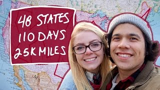 How to Road Trip! 48 States in 110 days | Going There