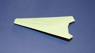 How To Make An Origami Airplane 04