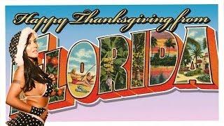 Mariah Milano's Florida Thanksgiving! No Turkey Here!