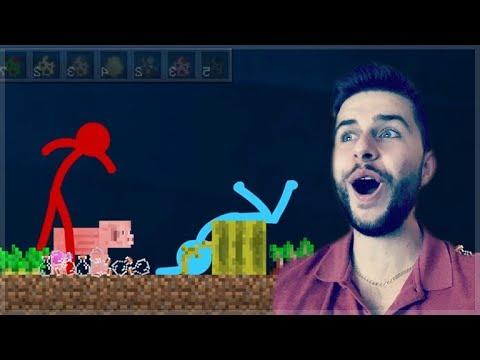 REACTING TO AMAZING ANIMATION Vs MINECRAFT!! - PIG Vs POTIONS Minecraft Animations