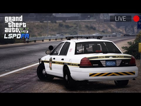 GTA 5 LSPDFR - Day 58 | Live Patrol | Pennsylvania State Pol