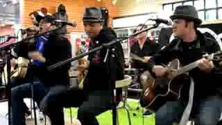 "Street Dogs Acoustic ""two Angry Kids"" @ Newbury Comics '08"