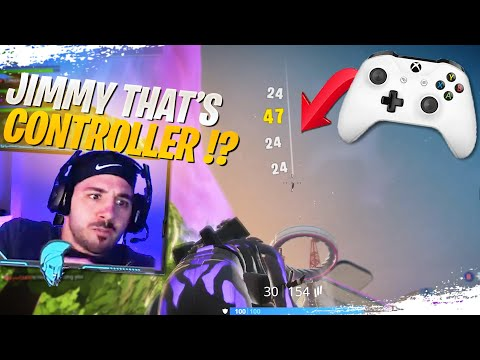 Nickmercs COULDN'T BELIEVE I Was On Controller! Ft. Nick, Tim, SypherPK (Fortnite Battle Royale)