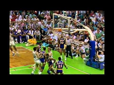 1987 Finals: LA Lakers@Boston Game 4 HIGHLIGHTS