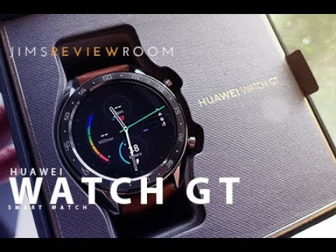 Huawei Watch GT - Smartwatch REVIEW