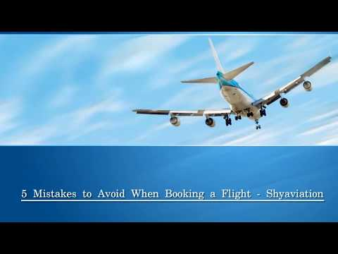 5 Mistakes to Avoid When Private Jet Booking Flight - Shyaviation