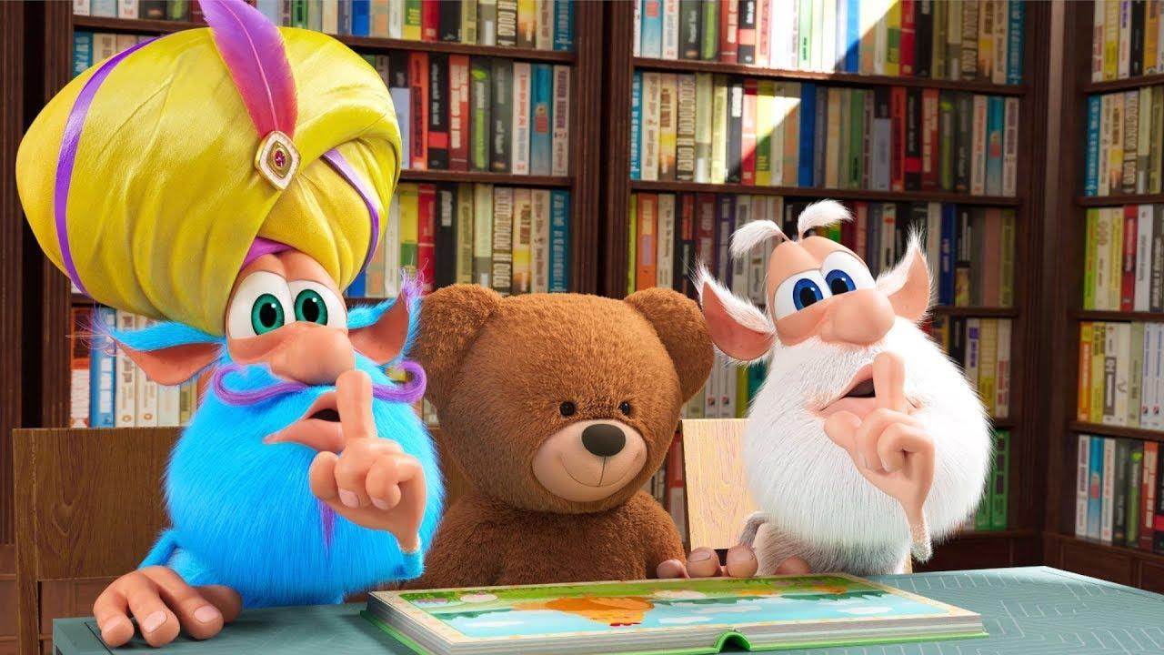 Booba 📚 Ruhig in der Bibliothek! 📙 Folge 77 - Lustige Cartoons für Kinder - Booba ToonsTV