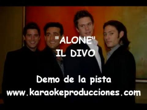 Il divo alone demo pista karaoke instrumental youtube - Il divo solo ...