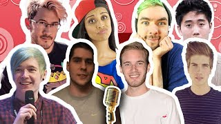 8 YOUTUBERS SINGING 1 SONG!! CLOSER X SHAPE OF YOU MASHUP