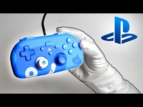 PS4 MINI CONTROLLER! (Slime Edition) Unboxing Playstation 4 HORI Gamepad Call of Duty WWII