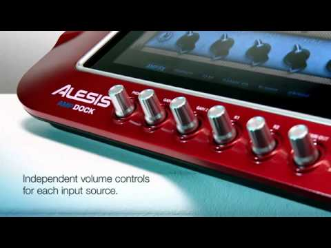 alesis ampdock multi effects guitar processor for ipad youtube. Black Bedroom Furniture Sets. Home Design Ideas