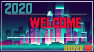 Happy new year 2020 2020 Happy new year Brokenheart
