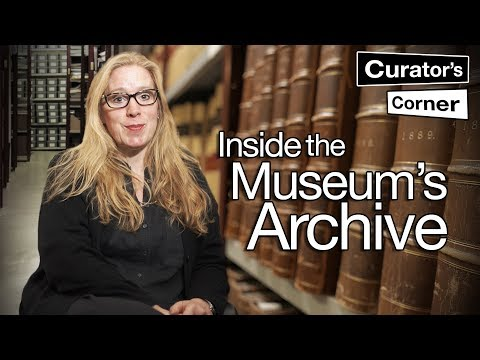 Behind the scenes in the Museum's archive I Curator's Corner season 3 episode 2