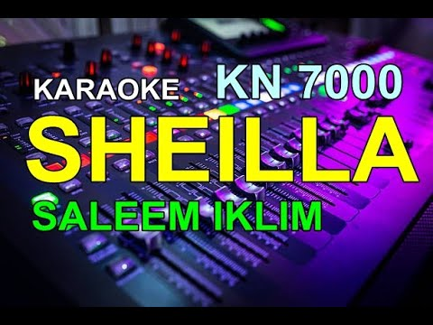 KARAOKE SHEILA IKLIM Kn7000