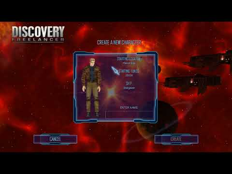 Let's Play Discovery Freelancer 2018: Ep 1 - Interface basics and prepping for launch