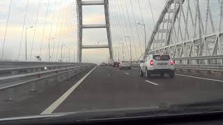 Открытие движения через Крымский мост. Хроника без ретуши. 16.05.18г