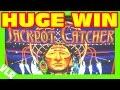 BIG HUGE BIG WIN - JACKPOT CATCHER - Slot Machine Bonus