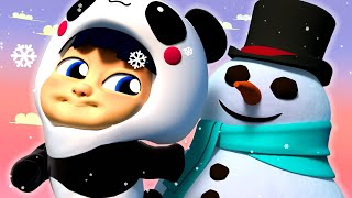 Winter Song For Kids ⛄ Snow Land +More Songs for Children 🎤 One Zeez