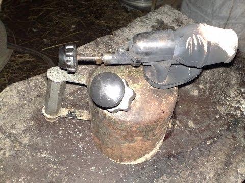Паяльная лампа -ремонт