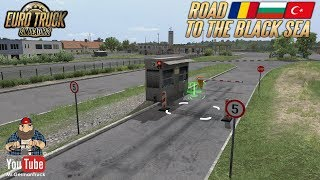 ETS2 v1 36 ETS2 Update 1 36 Open Beta Road to Black Sea Border Crossing