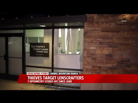 Thieves Target Lenscrafters