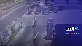 شاهد   سقوط صواريخ الفصائل على مستوطنة