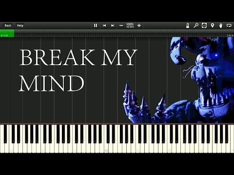 [Synthesia] DAGames - Break my Mind [FNAF]
