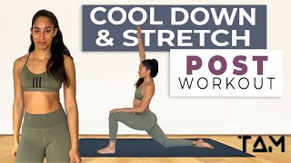 POST WORKOUT COOL DOWN STRETCH || FOLLOW ALONG / The Athlete Method