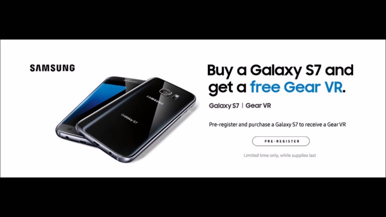 promotion galaxy s7