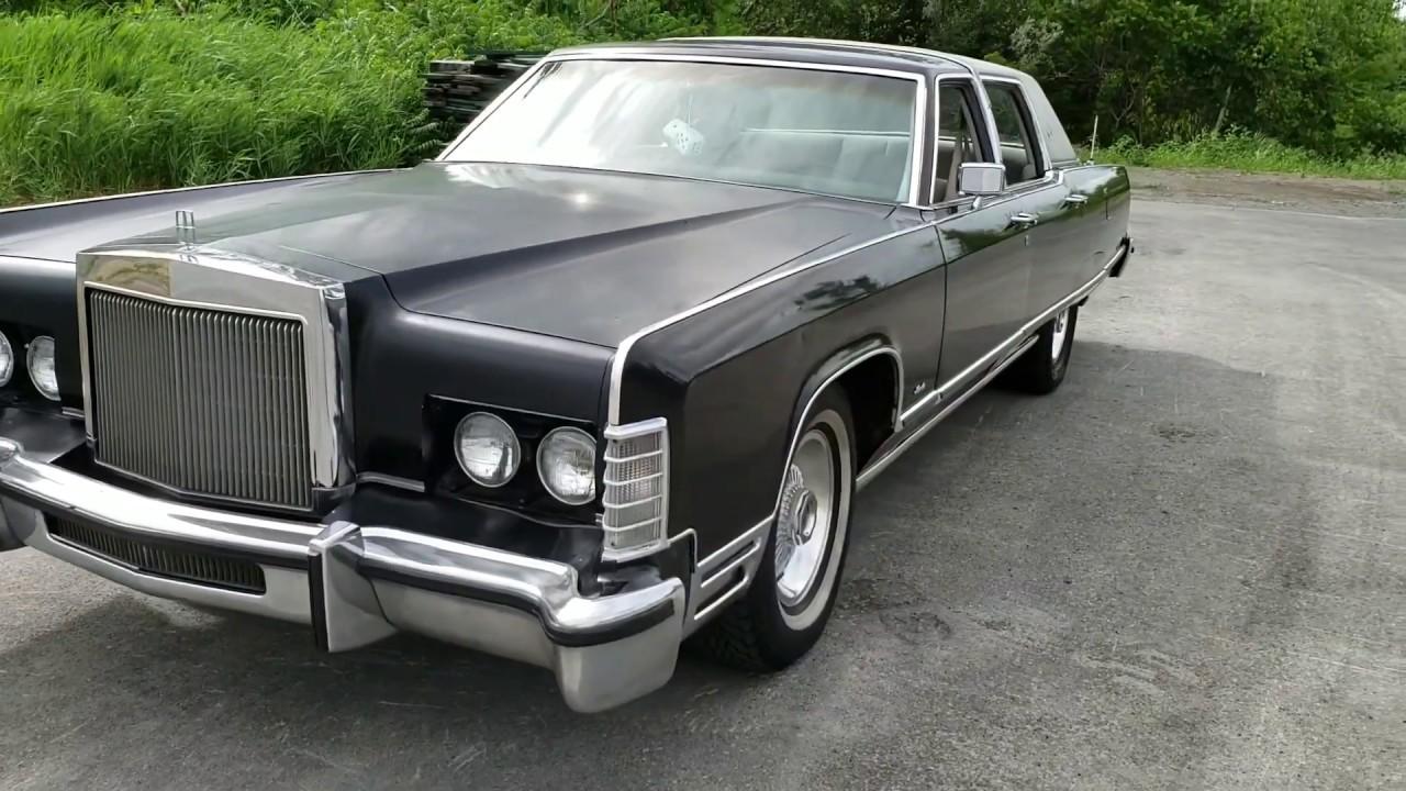 1977 Lincoln Continental Town Car Walkthrough Youtube