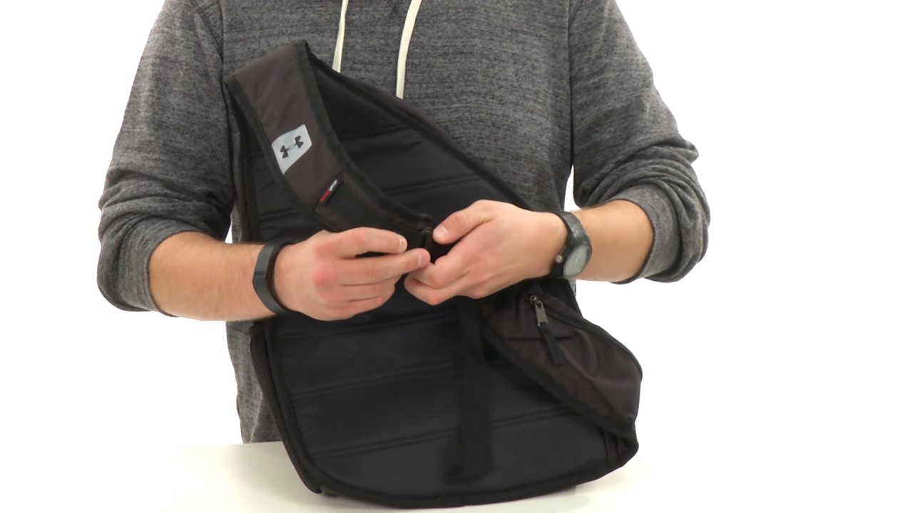 c715facde629 Under Armour UA Compel Sling II SKU 8685583 - YouTube